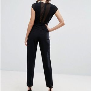 French Connection Pants - French Connection Marie Chiffon Jumpsuit